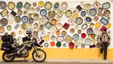 Vila do Bispo. The Portuguese have a big love affair for colourful pottery and tiles.