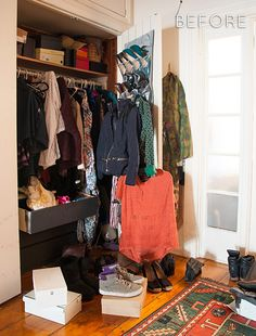 How To Make Everything Fit In Your Small Closet