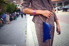 Shirt and Pants: …à_la_fois…  Necklace and bracelets: Cooee Design  Rings: Pinko  Bag: 3AG