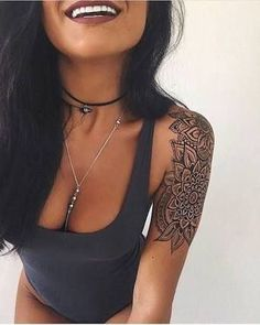 Image result for shoulder tattoos for girls