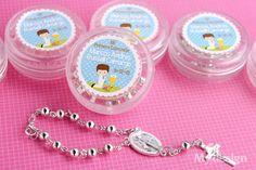 Recordatorios para Primera Comunión de niño - Rosario -  http://tiendamydesign.com/panama/recordatorios-para-primera-comunion-de-nino-rosario