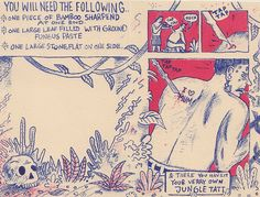 A beginners guide to jungle tattoo by GMcCallum, via Flickr
