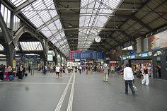 Loved this train station, Zurich Switzerland