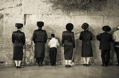 Sabbath on Western Wall ✡ Javier Corbo.