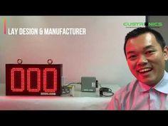 PPM l LED Display System 3 Digit Piece per Minute l MPM l NPN sensor I K...