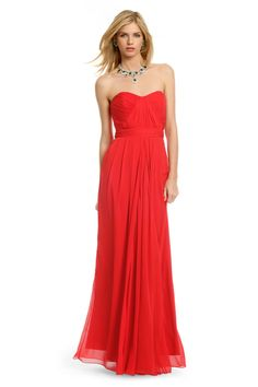 Faye Chiffon Gown - Can't wait to wear this to a black tie event on Thursday!  Thank you, renttherunway.com!