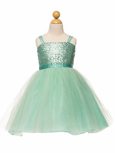 Look at this Petite Adele Mint Sequin Overlay Dress - Toddler & Girls on today! Sequin Flower Girl Dress, Green Sequin Dress, Cute Flower Girl Dresses, Toddler Girl Dresses, Girls Dresses, Toddler Girls, Flower Girls, Bridal Dresses, Bat Mitzvah Dresses