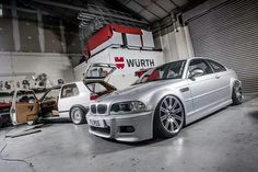 BMW E46 Airlift Equipped