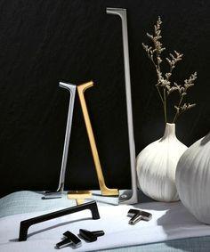 Featured Products – Pomelli Designs Kitchen Cabinets Handles And Knobs, Cabinet Handles, Cabinet Hardware, Door Handles, Door Knobs, Shaker Style Kitchens, Beautiful Interiors, Van, Silhouette