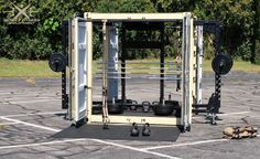 Mobile Fitness Equipment, Inc. Outdoor Gym Equipment, Fitness Equipment, Training Equipment, No Equipment Workout, Container Pool, Container Size, Kettlebell Rack, Plate Storage, Suspension Training