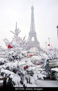 Paris in Winter. Photo by Tom Craig