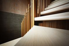 Victorian Ash | Feature | Stained | Concrete | Stair | Closed | Open | Steel Zig Zag Stringer | Slat Balustrade | Architecture | Design