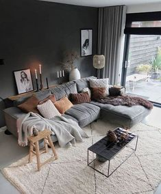 37 Comfortable and Soft Sofa Makes You Really Relaxed home design, ,interior design, living room,sofa Scandinavian Interior Design, Scandinavian Home, Home Interior, Interior Architecture, Living Room Cabinets, Living Room Furniture, Home Furniture, Living Room Color Schemes, Living Room Designs