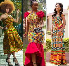 Beautiful Kente Styles For The Fashion Forward Woman Latest Ankara Dresses, Ankara Dress Styles, Kente Styles, Latest African Fashion Dresses, African Men Fashion, African Women, Ghana Fashion, Ankara Fashion, Shweshwe Dresses