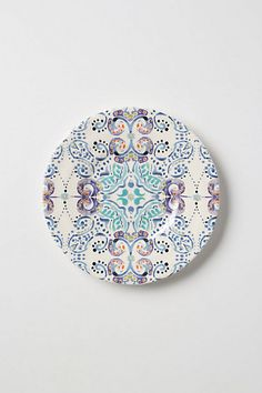 Swirled Symmetry Salad Plate - Anthropologie.com