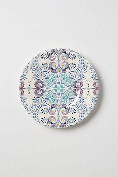 Swirled Symmetry Salad Plate - anthropologie.com