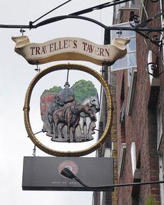 Pub Sign Art a la cARTe: The Travellers Tavern, London, SW1 - Victoria