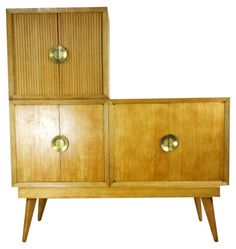 Vintage Mid-Century Swanky Atomic Modular Bar on Chairish.com