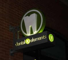 Denver dentist blade sign