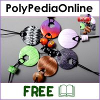polypediaonline polymer clay tutorials IKAT millefiori canes project
