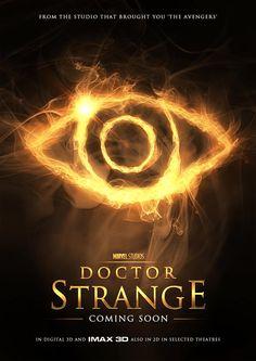 Doctor Strange Eye of Agamotto based fan made movie poster