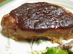 Oven BBQ Pork Steaks ~ Ingredients: *4 -6 pork steaks *1/2 cup ketchup *1/2 cup brown sugar *1 teaspoon soy sauce *1 tablespoon vinegar *salt *pepper *garlic powder *onion powder. Directions: Preheat oven to 350°F. Season Pork steaks to taste in 13x9-inch pan. Mix remaining ingredients. Pour over steaks. Cover pan with foil, place in oven and bake for 1 hour.