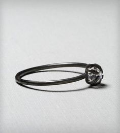Yet Another Black Diamond Ring by Gunnard Jewelry on Scoutmob Shoppe