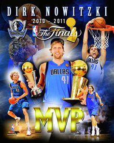 Dirk Nowitzki 2011 NBA Finals MVP