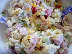Tortellini - Salat mit Joghurt - Creme 1