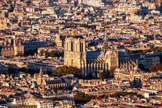 París desde los tejados, como nunca lo has visto. La explanada a la que se abre la catedral de Notre-Dame