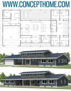 Floor Plan, Home Plans, House Plans Floor Plan, Home Plans, House Plans Barn House Plans, New House Plans, Dream House Plans, Cabin Plans, House Floor Plans, Bungalow Floor Plans, D House, Sims House, Metal Building Homes