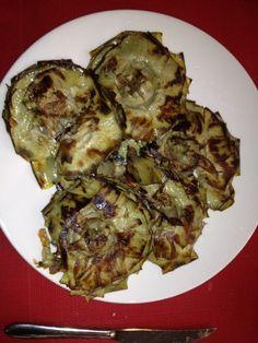 #Alcachofas al horno. Deliciosas y adictivas.