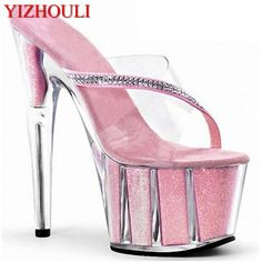 Delicious Laijianjinxia New Bowtie Night Club Women Sexy Dance Shoes 15cm High Heels Platform Dancing Shoes Sandals Pole Dance Shoes New Varieties Are Introduced One After Another Office & School Supplies