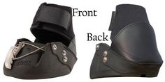 EasyCare Easyboot Epic Hoof Boots Pony by Easyboot. $71.95. Easyboot - the iron shoe alternative!. Ideal for the barefoot horse or for a horse that is difficult to keep booted. The attached gaiter provides extra protection to the hoof. Also helps keep the boot on during extreme conditions. Using Easyboots(R) is a natural way to provide hoof protection, traction, treatment, cushioning and correction while allowing the horse to go barefoot at all other times. They fit s...