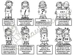 La punteggiatura. www.maestralarissa.sicsas.eu Crazy Cat Lady, Crazy Cats, Italian Vocabulary, Classroom Projects, Maria Montessori, Italian Language, Learning Italian, Homeschool, Teaching