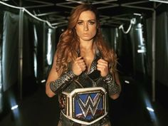 What a REAL Womens Champion looks like Wrestling Stars, Women's Wrestling, Wrestling Divas, Becky Lynch, Conor Mcgregor, Wwe Lucha, Becky Wwe, Rebecca Quin, Wwe Female Wrestlers