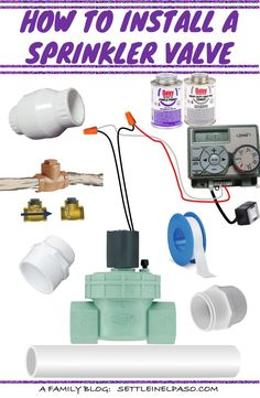 Installing a sprinkler valve is not that difficult. In fact we did it ourselves. We thought this tutorial would help if anyone plans to do it himself or herself. Home Sprinkler System, Sprinkler Valve, Sprinkler Irrigation, Drip Irrigation, Hydroponic Farming, Aquaponics System, Outdoor Projects, Easy Diy Projects, Yard Drainage