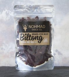 Biltong Grass-Fed Beef Jerky, 2 Bags | Enjoyed by the indigenous peoples of Southern Africa for centu... | Jerky