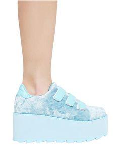 low priced 69471 7353c Lala Velvet Velcro Platform Sneakers Cowboy Boot Marken, Korallenrote Schuhe,  Plateauschuhe, Flache Schuhe
