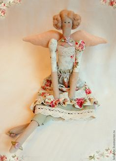 "Tilda dolls handmade.  Fair Masters - handmade textile doll ""Feechka Rose"".  Handmade."