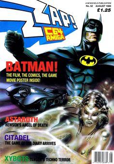 vgjunk: - Zzap!64 magazine Batman cover.