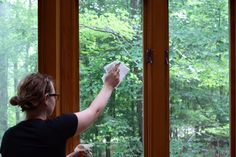 Use brewed tea to clean windows, mirrors or countertops >> http://blog.diynetwork.com/maderemade/2013/07/27/6-handy-uses-for-tea-that-dont-involve-sipping/?soc=pinterest