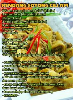 Mee hailam recipes rice savoury dishes salad pinterest rendang sotong cili api forumfinder Image collections