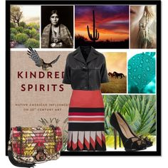 """Rafe """"Angela"""" patchwork snakeskin flap bag in a set titled """"Kindred Spirits"""" by shape-shifter on Polyvore available @Zappos Couture"""