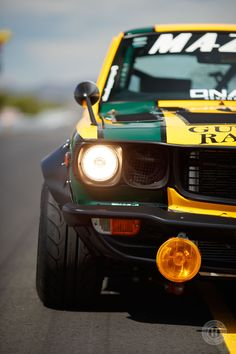 Retro Race Looks, Three-Rotor Power: A Heroic RX-3 - Hoonigan