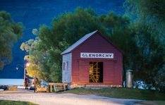 This is one of the most famous little landmarks in the small town of Glenorchy. There is a dock here that juts out into Lake Wakatipu, and it ends up being a little destination for most people who first visit the area. In a way, I suppose, it's kind of th