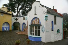 Port Meirion Village, Wales