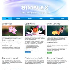 Simplex is free responsive template based on Bootstrap 3.0.0 and this layout works on both mobile and desktop devices.