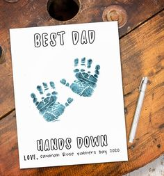 Kids Fathers Day Crafts, Fathers Day Cards, Dad Birthday Crafts, Christmas Gift For Dad, Perfect Christmas Gifts, Christmas Presents, Diy Gifts For Dad, Dad Gifts, Personalized Birthday Gifts