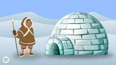 It's crazy to think that a building made of snow can sufficiently keep you not only warmbut cozy. But when Eskimos had no other natural resources as building material options, they figured out a way to make it work.Press play to learn the interesting science of igloos.